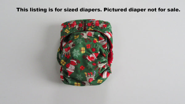 TADA AIO Santa and Reindeer-Fruit of the Womb Diapers