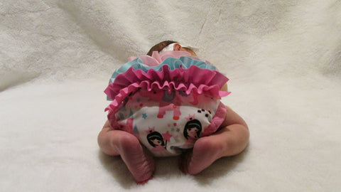 Prissy Pants Princess Diaper Cover
