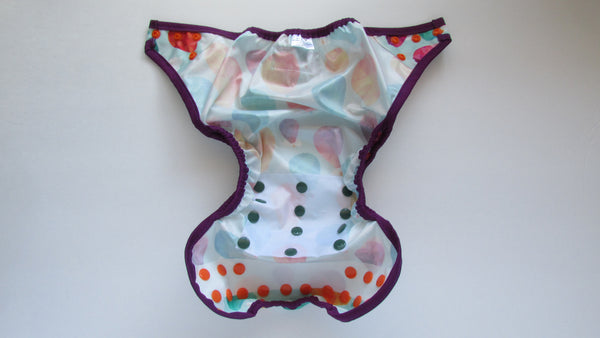 Prissy Pants Hot Air Balloons Diaper Cover-Fruit of the Womb Diapers