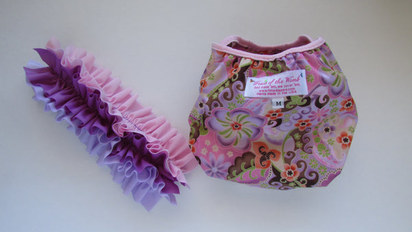 Prissy Pants Pink Majik Diaper Cover-Fruit of the Womb Diapers