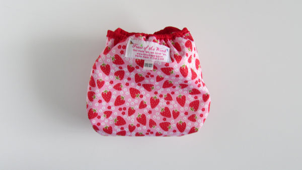 Prissy Pants Strawberries Diaper Cover-Fruit of the Womb Diapers