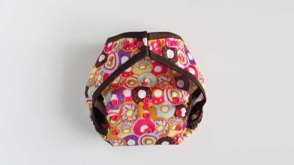 Prissy Pants Donuts Diaper Cover-Fruit of the Womb Diapers