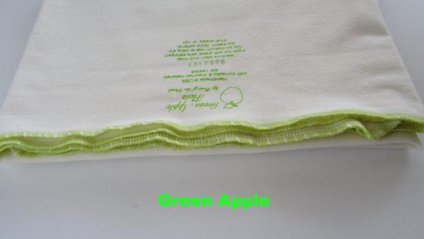 Infant Green Apple Caramel flat-Fruit of the Womb Diapers