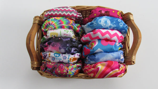 TADA AIO Set of 6-Fruit of the Womb Diapers