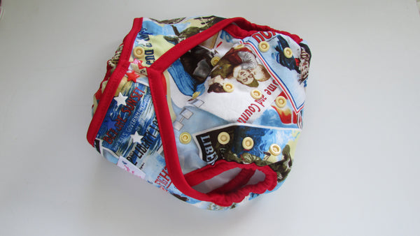 Print Diaper Covers Small