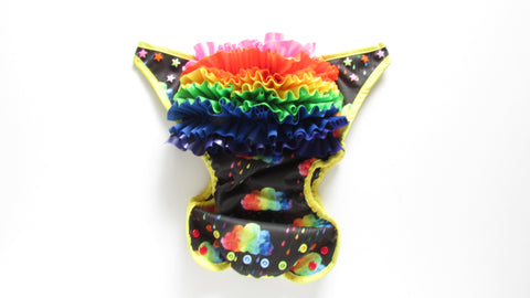 Epic Rainbow Diaper Cover