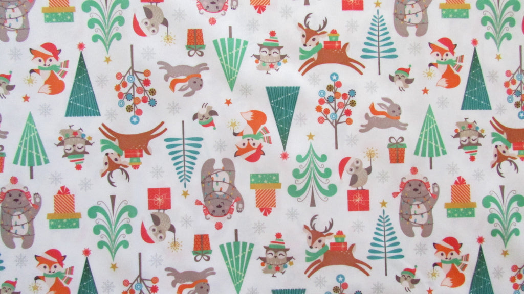 Woodland Christmas Diaper Cover-Fruit of the Womb Diapers