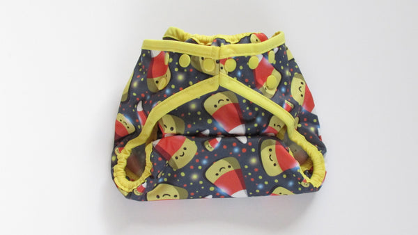 Happy Candy Corn Diaper Cover