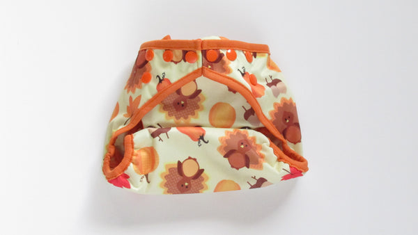 Thanksgiving Diaper Cover-Fruit of the Womb Diapers