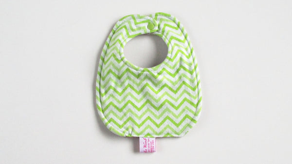 Reversible Contoured Burp Cloth & Bib set-Fruit of the Womb Diapers