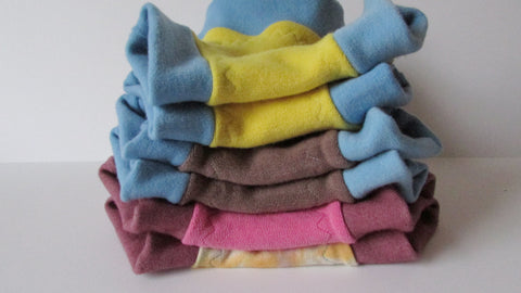 Custom Dyed Organic Wool Soaker-Fruit of the Womb Diapers