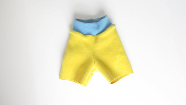 Custom Dyed Organic Wool Shorts-Fruit of the Womb Diapers