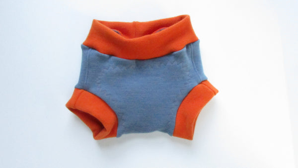 Custom Dyed Organic Wool Soaker