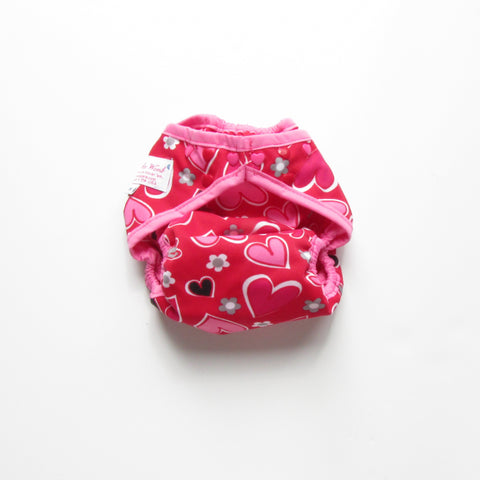 Hearts Diaper Cover