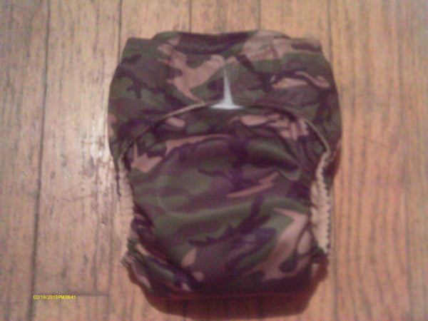 One Size TADA AIO Camo-Fruit of the Womb Diapers