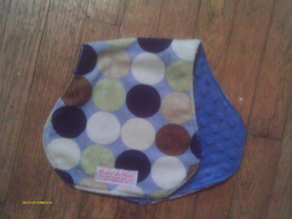 Contoured Minky Burp Cloth-Fruit of the Womb Diapers