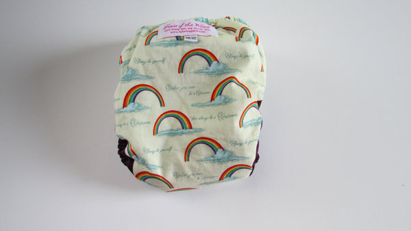 One Size TADA AIO 2.0 Rainbow-Fruit of the Womb Diapers