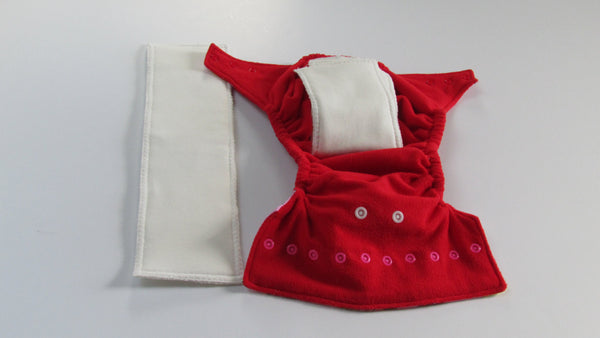 One Size TADA 2.0 AIO Strawberry Shortcake-Fruit of the Womb Diapers