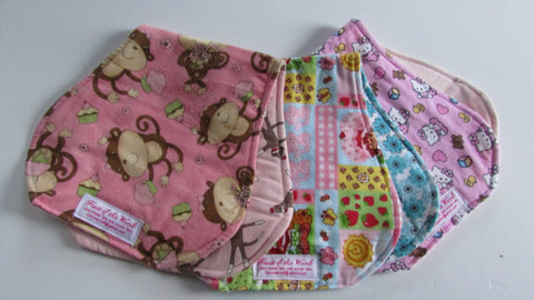 Reversible Contoured Burp Cloth