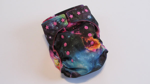 One Size TADA AIO Galaxy-Fruit of the Womb Diapers