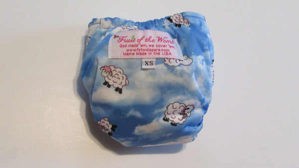 TADA AIO Counting Sheep-Fruit of the Womb Diapers
