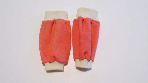 Leg warmers in Organic Wool Interlock Knit