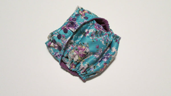 Pocket Palz Pocket Diaper in Klara print-Fruit of the Womb Diapers
