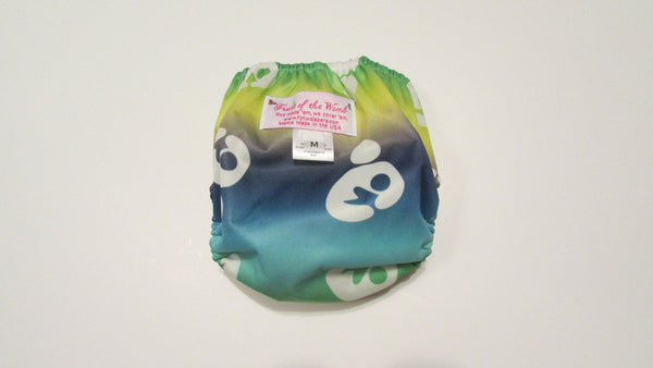 Pocket Palz Pocket Diaper in Breastfeeding print with engraved breastfeeding snaps-Fruit of the Womb Diapers