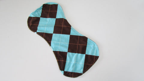 Contoured Minky Burp Cloth