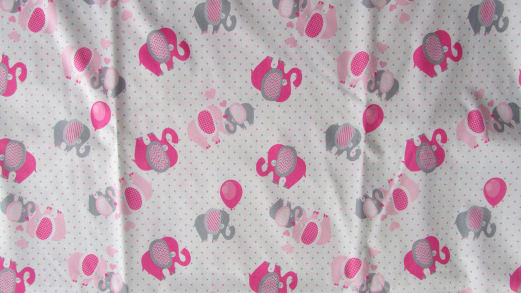 TADA AIO Pink and Grey Elephants-Fruit of the Womb Diapers