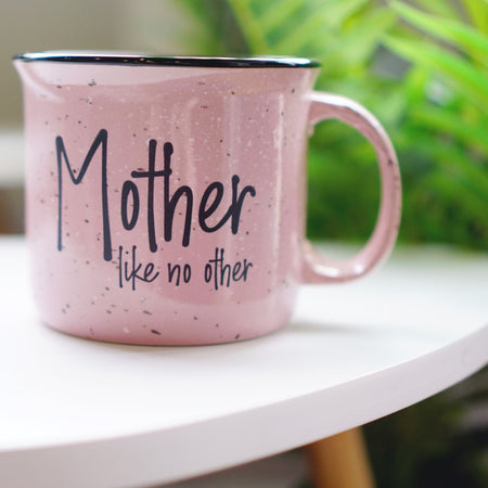Forever Tired Pink Marble 15oz Ceramic Mug