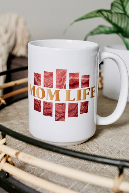 Feral Housewife 15oz White Mug