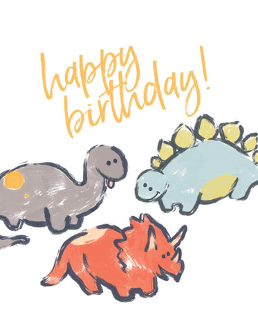 Dinosaur Birthday Cards (5 pack)