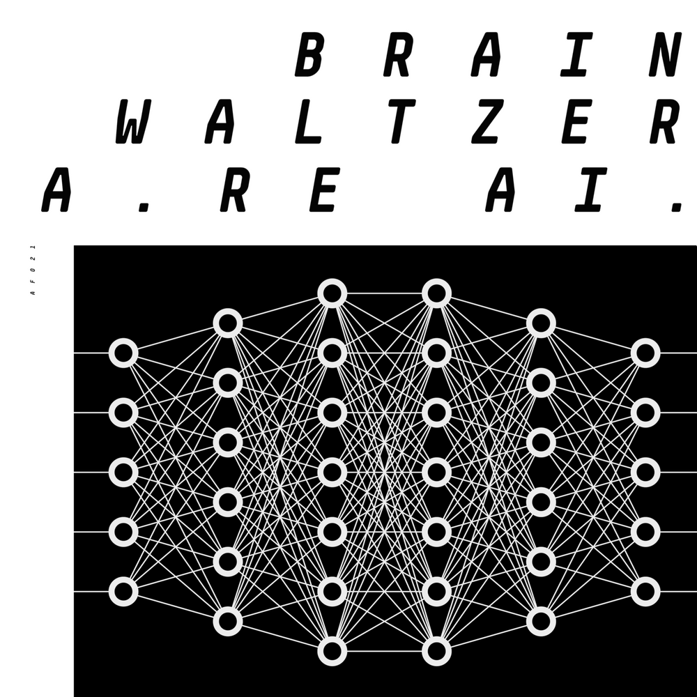 AF021 - Brainwaltzera - The Kids Are AI EP - 12""