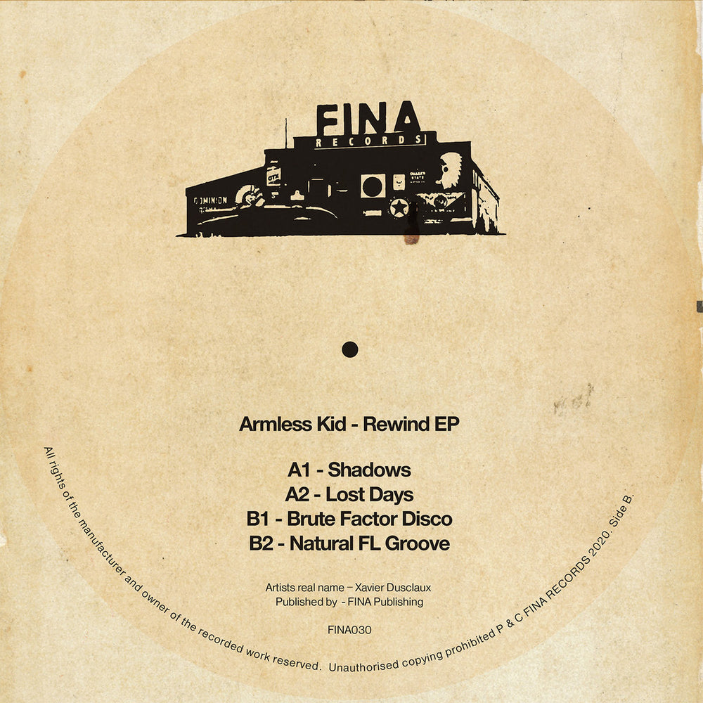 FINA030 - Armless Kid - Rewind - Fina Records