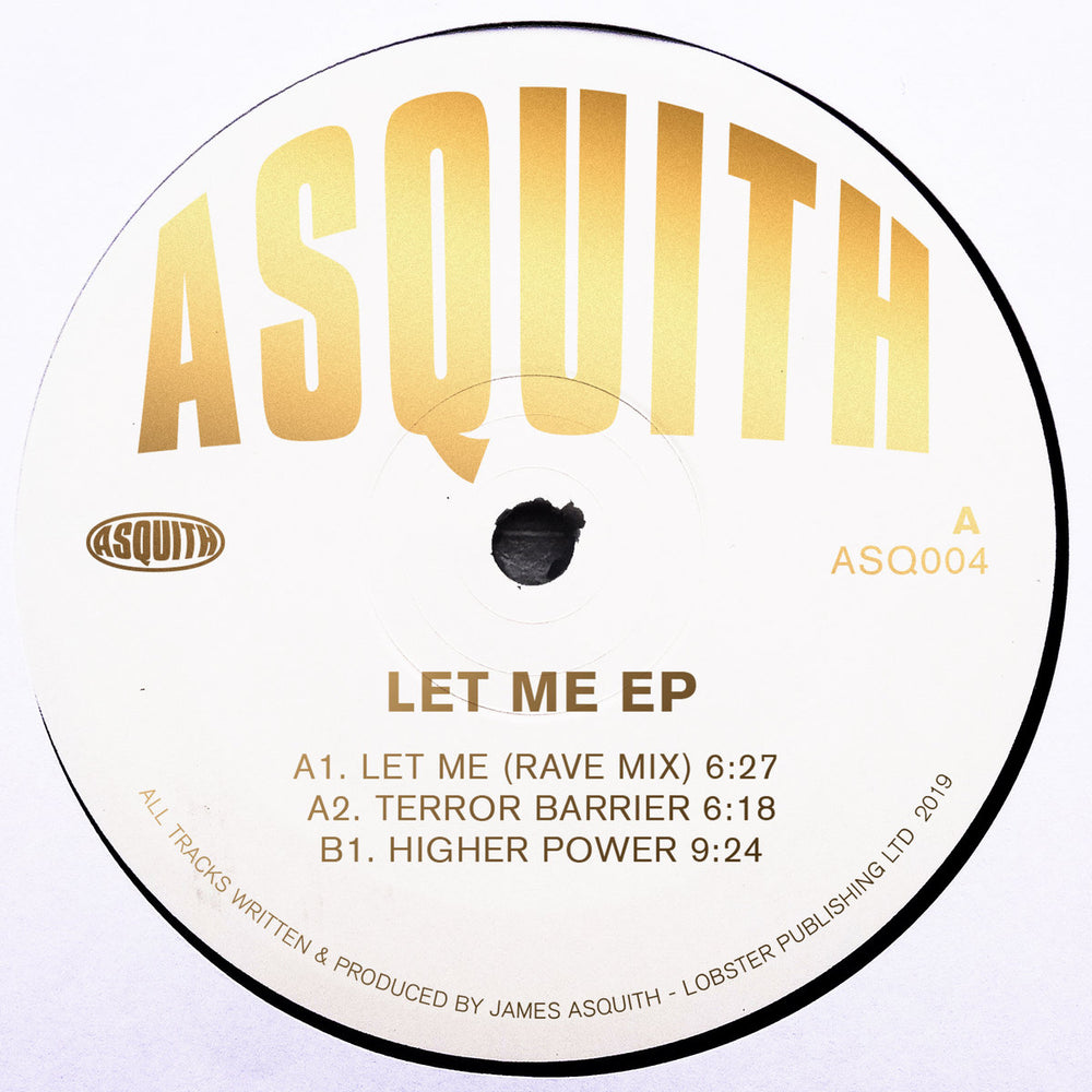 ASQ004 - Asquith - Let Me - Asquith
