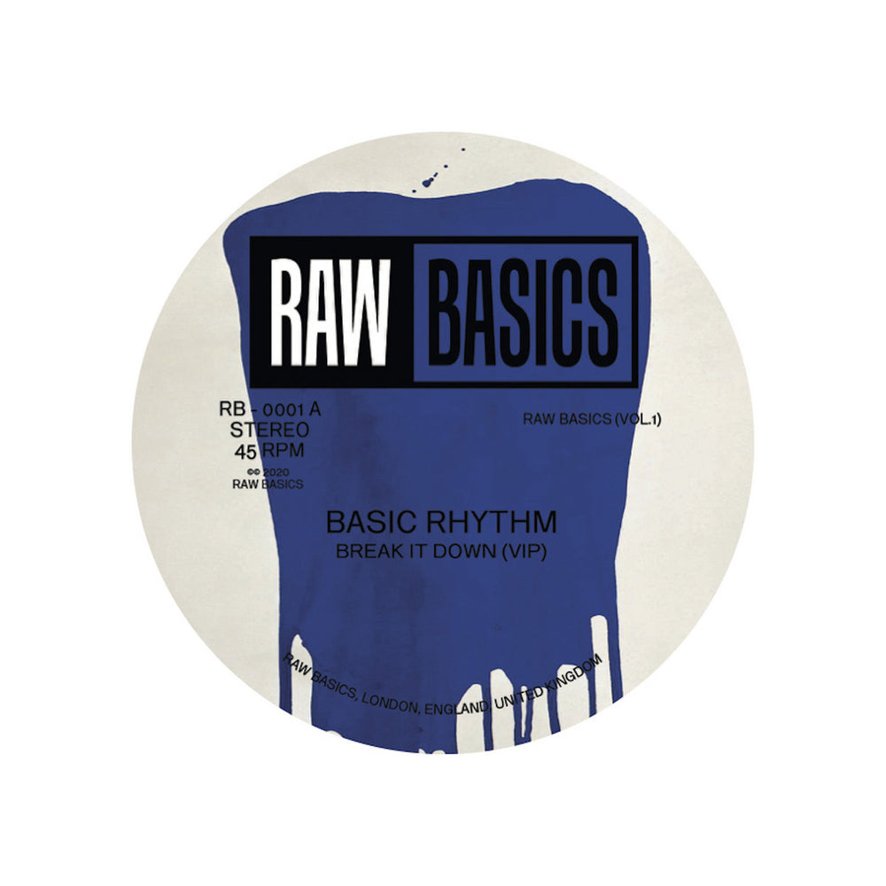 RB-0001 - Basic Rhythm & Parris - Raw Basics (Vol.1) - Raw Basics