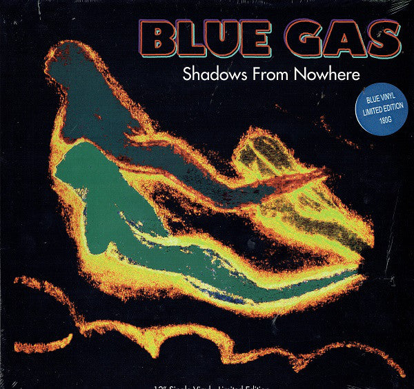 BST-X009/RR - Blue Gas - Shadows From Nowhere - Best Record