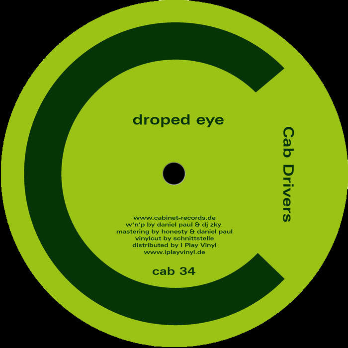 cab34 - Cab Drivers - Droped Eye - Cabinet