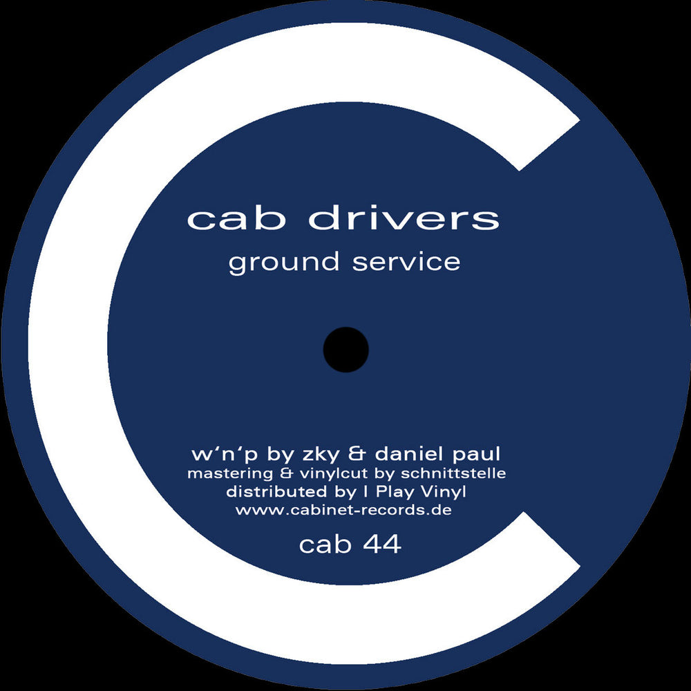 CAB44 - Cab Drivers - Ground Service - Cabinet