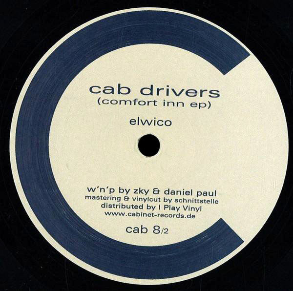 CAB08/2 - Cab Drivers - Comfort Inn - Cabinet