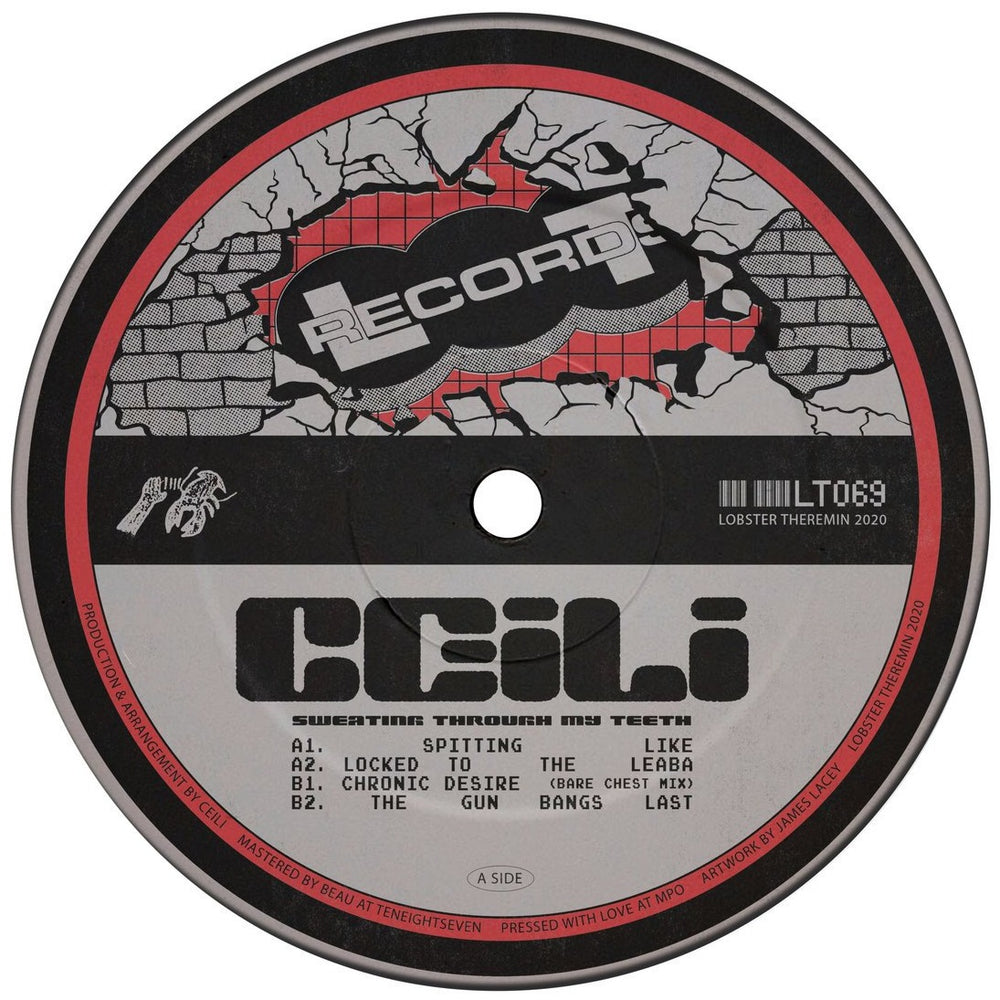 LT069 - Ceili - Sweating Through My Teeth - Lobster Theremin