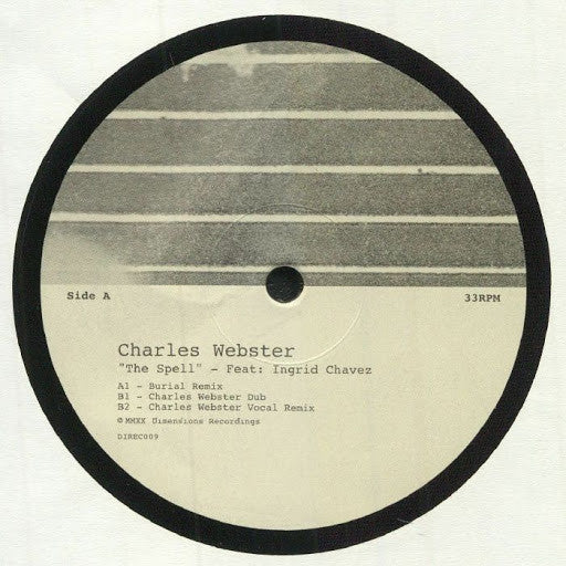 DIREC009 - Charles Webster & Ingrid Chavez - The Spell - Dimensions