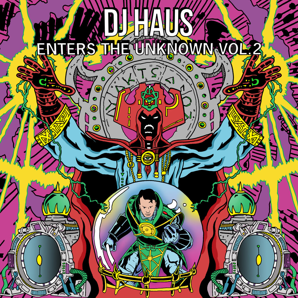 ETU002 - Various Artists - DJ Haus Enters The Unknown Vol. 2 - Unknown To The Unknown
