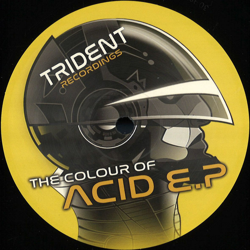 TRECS004 - Derek Carr - The Colour of Acid EP - Trident