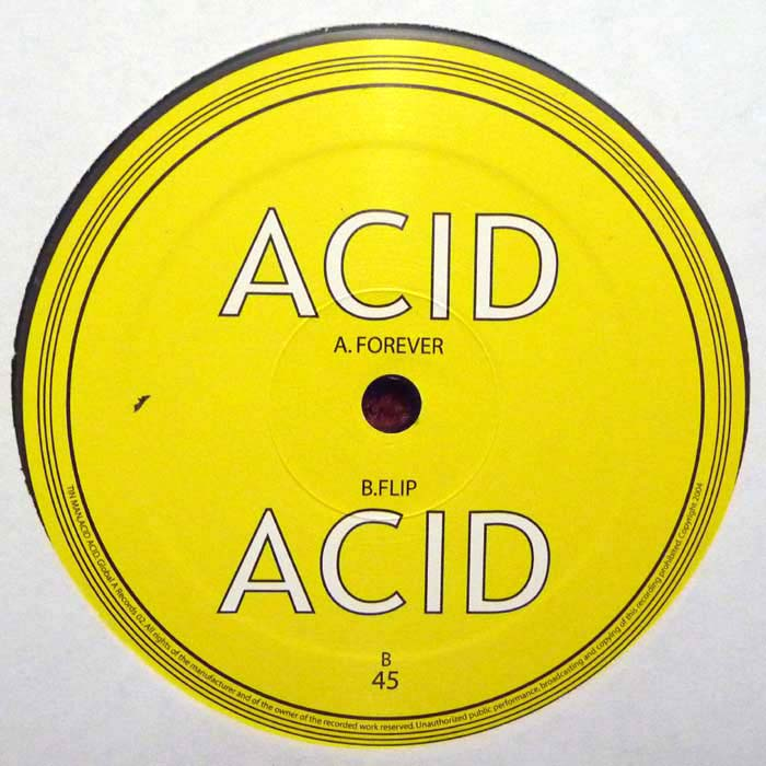 GlobalA004 - Tin Man - Acid Acid - Global A Records