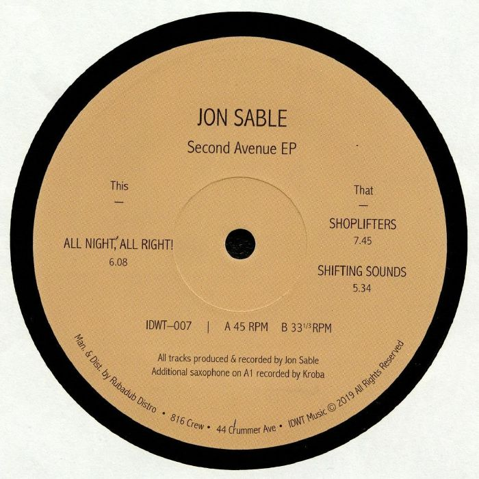 IDWT-007 - Jon Sable - Second Avenue - In Dust We Trust