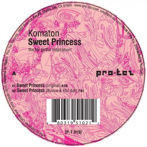 P-T019 - Komaton - Sweet Princess - 12""