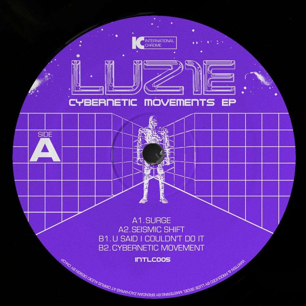 INTLC005 - Luz1e - Cybernetic Movements - International Chrome