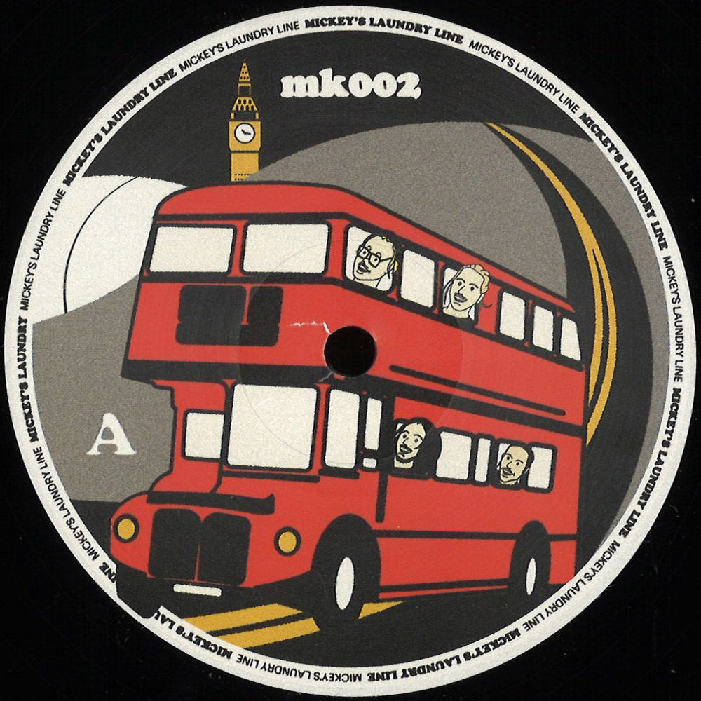 MK 002 - Various Artists - Double Decker - Mickey's Laundry Line